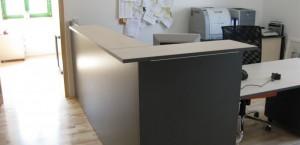 Sekretariat mit Kundenverkehr